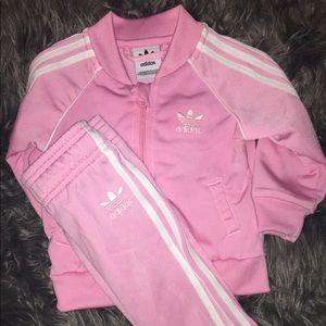 Infant Adidas track suit 6-9  months